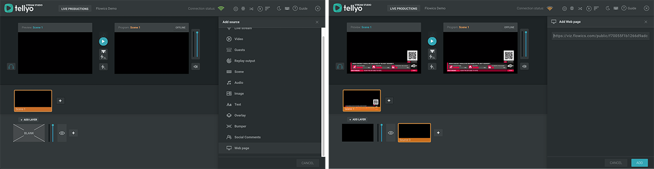 Tellyo_integration_Flowics
