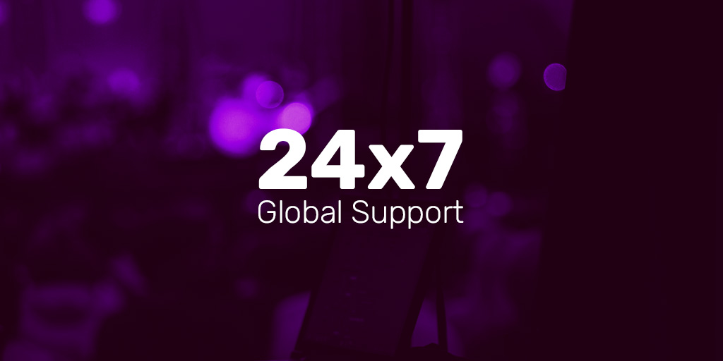 Announcing 24x7 Global Support