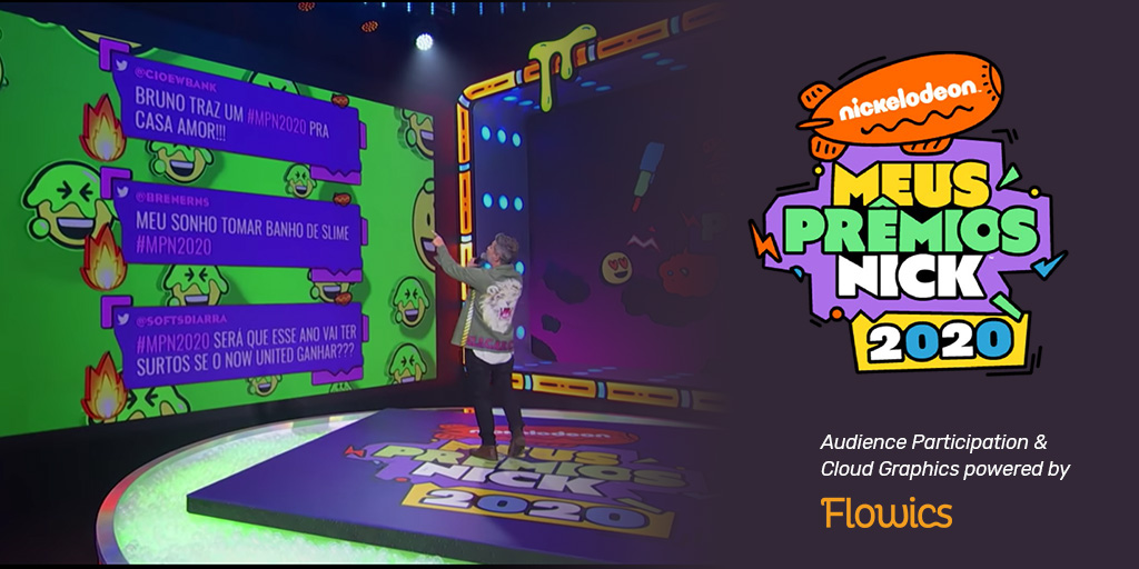 "Nickelodeon Leveraged Flowics to Increase Engagement Metrics Across the Board for the ""2020 Meus Premios Nick"""