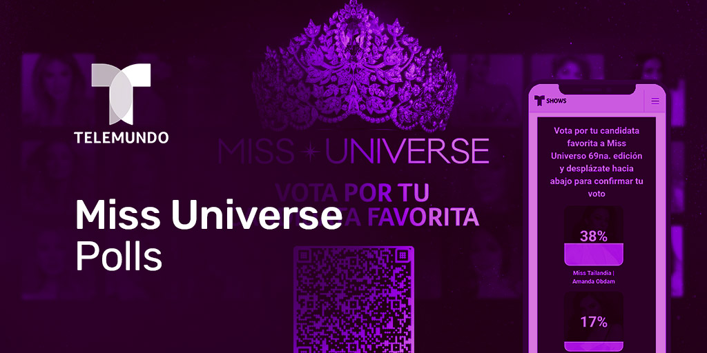 Telemundo triples audience participation for the 2021 edition of Miss Universe